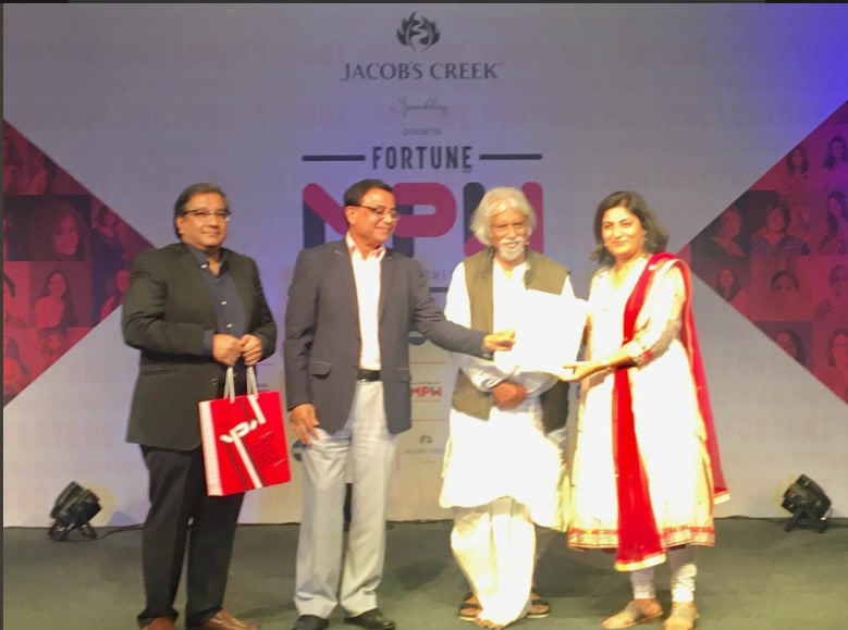Fortune India Most Powerful Women 2018 Awards, November 2018