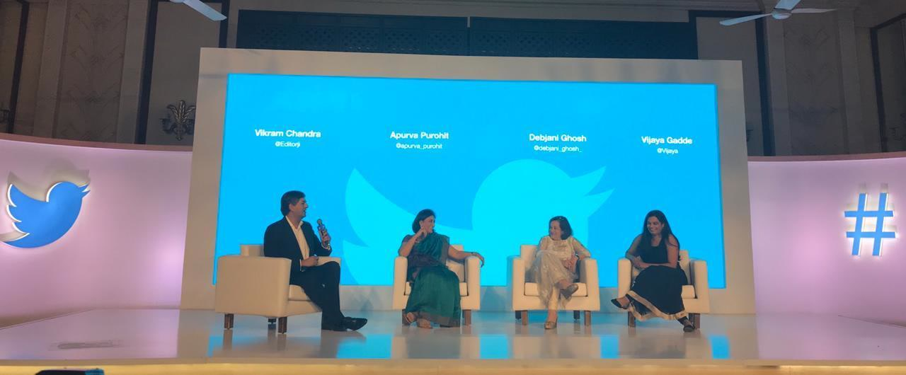 Jack In India Twitter CEO Chat, November 2018