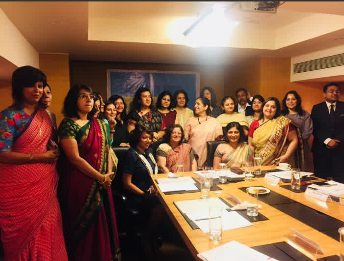 Sapphire Solutions Women in the boardroom, October 2018