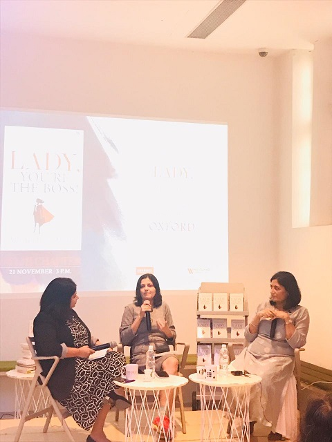 Ms Apurva Purohit launches the Lady You`re the Boss, Delhi Chapter, November 2019